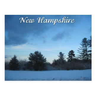New Hampshirewinter Postkarte