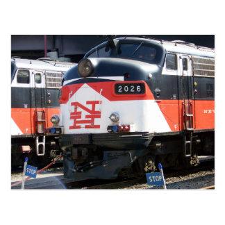 New-Haven Eisenbahn (c-PUNKT) FL 9M 2026 Postkarte