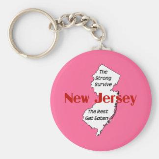 New-Jersey: die starken überleben; die Erholung Schlüsselanhänger
