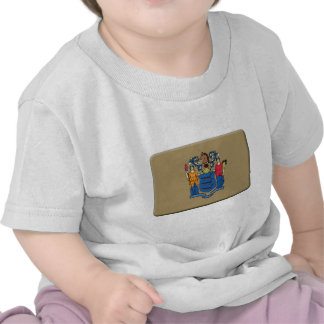 New-Jersey Flagge PERSONIFIZIEREN Shirt