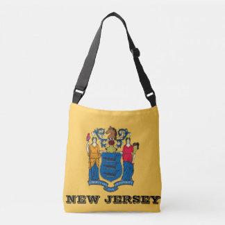 New-Jersey Flaggen-Taschen-Tasche Tragetaschen Mit Langen Trägern