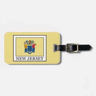 New-Jersey Gepäckanhänger