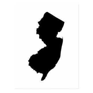 New-Jersey in Schwarzweiss Postkarte