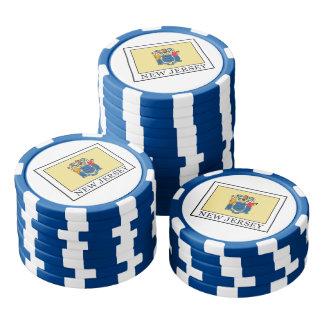 New-Jersey Poker Chip Set