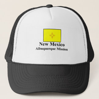 New Mexiko-Albuquerque-Auftrag-Hut Truckerkappe