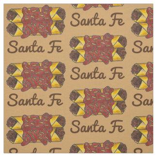 New Mexiko-Enchilada-Enchilada-Nahrung Santa Fe Stoff