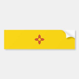New Mexiko-Flagge Autoaufkleber