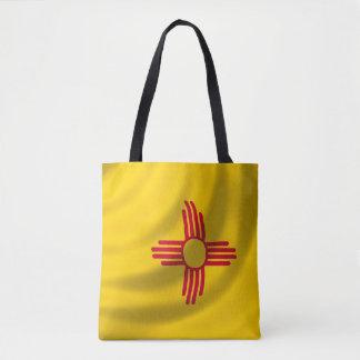 New-Mexiko Flagge für ganz vorbei - drucken Sie Tasche