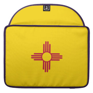 New Mexiko-Flagge MacBook Pro Sleeve