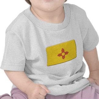 New Mexiko-Flagge PERSONIFIZIEREN Tshirt