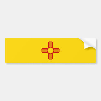 New-Mexiko Flaggen-Autoaufkleber Autoaufkleber