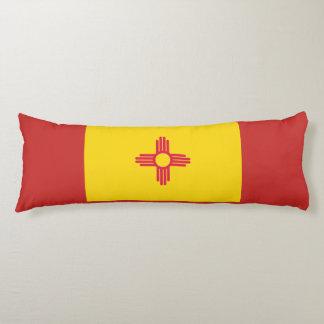 New Mexiko-Flaggen-Körper-Kissen Seitenschläferkissen