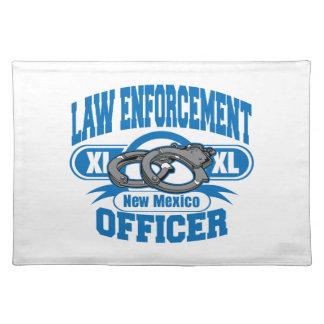 New Mexiko-Gesetzeshüter-Handschellen Tischset