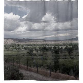 New Mexiko-Himmel 1 Duschvorhang