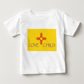 New-Mexiko Liebe-Kinderbaby Baby T-shirt