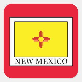 New Mexiko Quadratischer Aufkleber