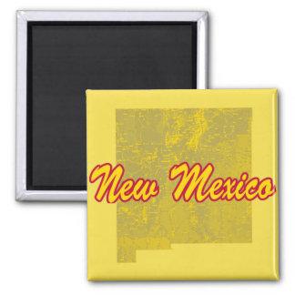 New Mexiko Quadratischer Magnet