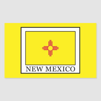 New Mexiko Rechteckiger Aufkleber