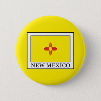 New Mexiko Runder Button 5,7 Cm
