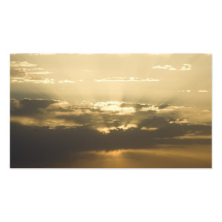 New Mexiko-Sonnenuntergang Visitenkarten