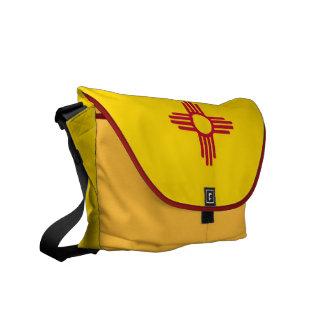 New-Mexiko Staats-Flaggen-Rickshaw-Bote-Tasche Kuriertasche
