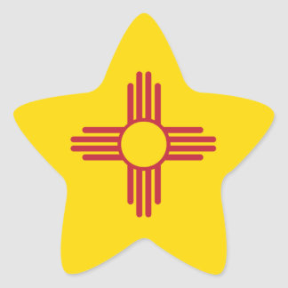 NEW MEXIKO Stern-Aufkleber