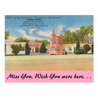 New Mexiko, Turm-Gericht, Albuquerque Postkarte