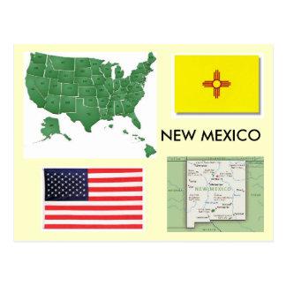 New Mexiko, USA Postkarte