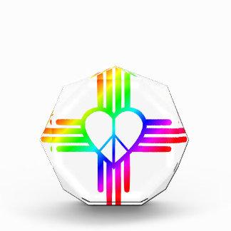 New-Mexiko Zia Liebe Acryl Auszeichnung