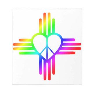 New-Mexiko Zia Liebe Notizblock