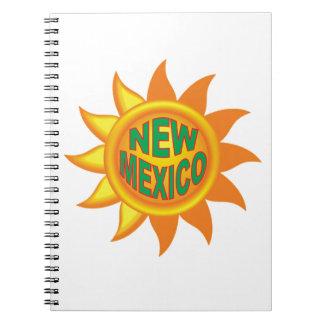 New Mexikosonne Notizblock