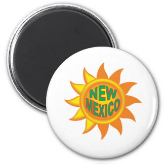 New Mexikosonne Runder Magnet 5,1 Cm