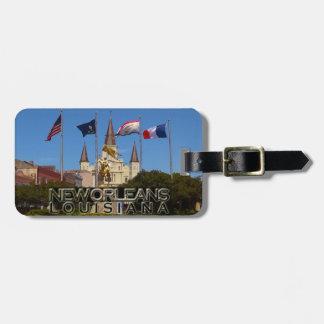 New Orleans Gepäckanhänger