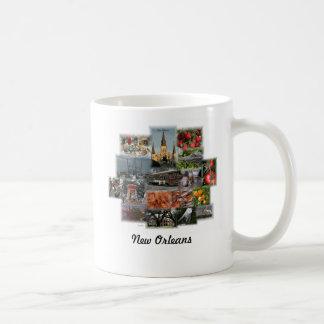 New Orleans Sehenswürdigkeiten und Cusine Kaffeetasse