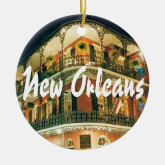 New Orleansgedenkandenken Keramik Ornament