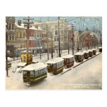 New- Orleanskanal-St.-Schnee 1895 Postkarte