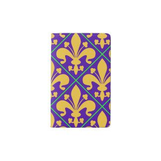 New- Orleanskarneval-Lilie Moleskine Taschennotizbuch