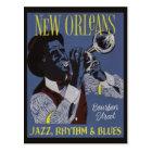 New- Orleansmusikpostkarte Postkarte