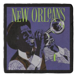 New- Orleansmusikstein trivet Töpfeuntersetzer