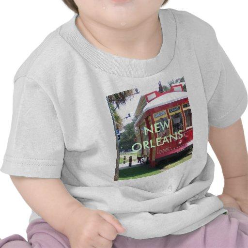 New OrleansStreetcar T Shirts