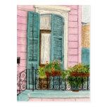 New- Orleanstür mit Fensterläden