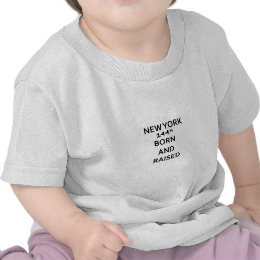 New York 100% geboren und angehoben Hemden