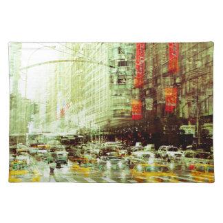 New York 2 Tischset