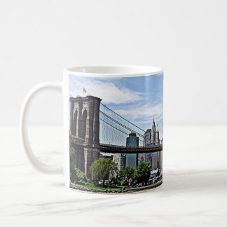 New York - Brooklyn-Brücke Kaffeetasse