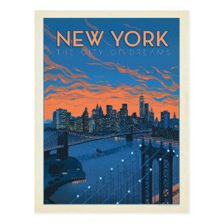 New York City | die Stadt von Träumen Postkarte