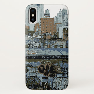 New York City Grafiti iPhone X Hülle
