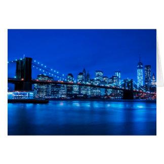 New York City Grußkarte
