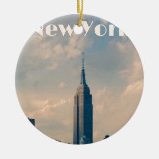 New York City Keramik Ornament