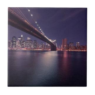 New York City Kleine Quadratische Fliese