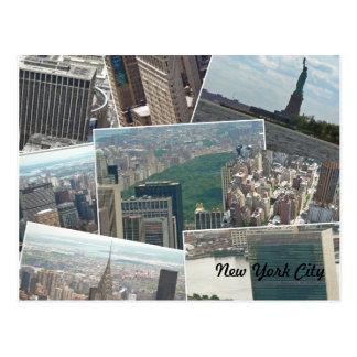 New York City Manhattan Multiview Postkarte